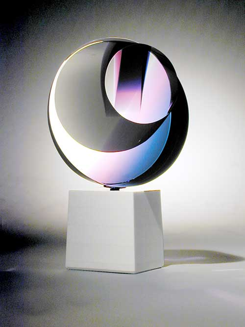 Pure Emotion glass sculpture by John Healey